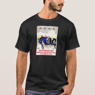 ADAC German Auto Race ~ Vintage Automobile Ad T-Shirt