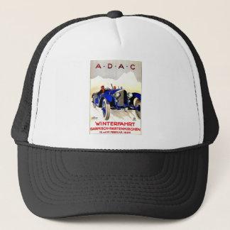 ADAC German Auto Race ~ Vintage Automobile Ad Trucker Hat