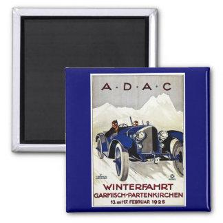 ADAC Vintage Automobile Advertisement 1925 Magnet