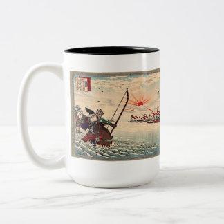 Adachi Ginko Two-Tone Mug