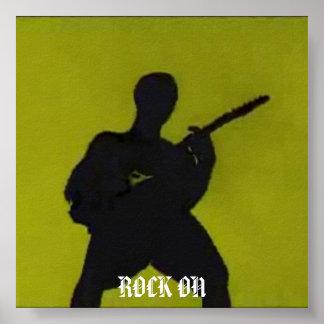 adam 6, ROCK ON Poster