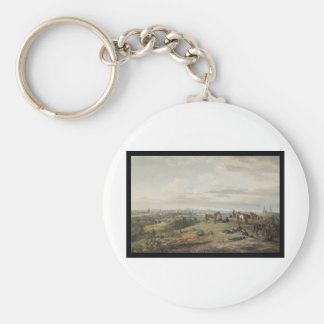 Adam Albrecht In the Environs of Viazma Basic Round Button Key Ring