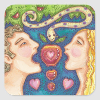 Adam And Eve APPLE SEDUCTION STICKERS Sheet