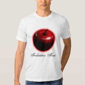 Adam and Eve Apple  - The Forbidden Fruit T Shirts