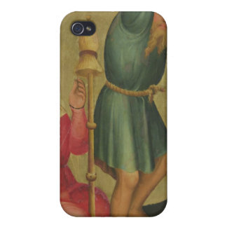 Adam and Eve at Work iPhone 4 Cases