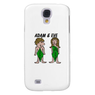 Adam and Eve Galaxy S4 Covers