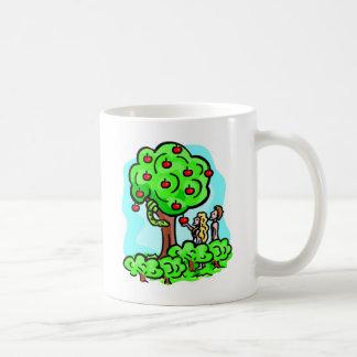 Adam and Eve Christian artwork Coffee Mug