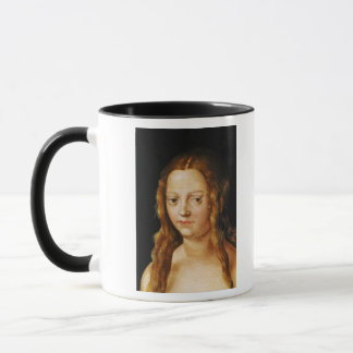 Adam and Eve, detail of Eve's head Mug