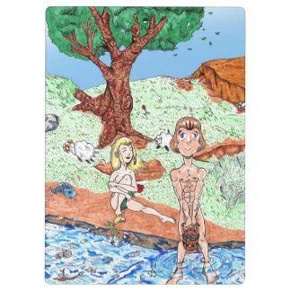 Adam and Eve in the Garden Clipboards