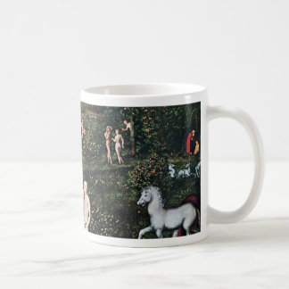 Adam And Eve In The Garden Of Eden, Adam And Eve I Coffee Mug