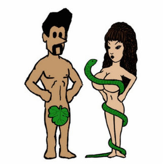 Adam and Eve Cut Out