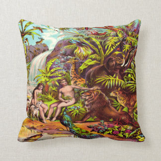 Adam and Eve Pillow Throw Cushions