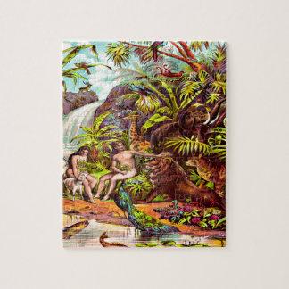 Adam and Eve Puzzle Design