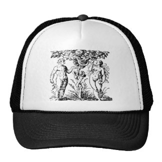 Adam and Eve & Tree Mesh Hats