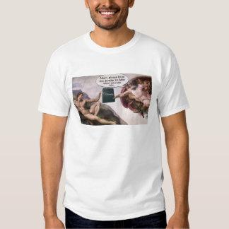 Adam and God Binder Full of Women T-shirt