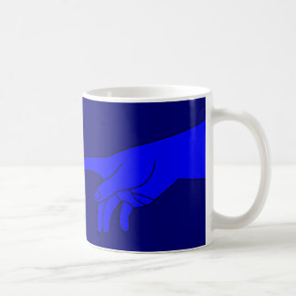 Adam and God Coffee Mug