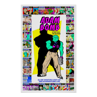 Adam Bomb! Poster