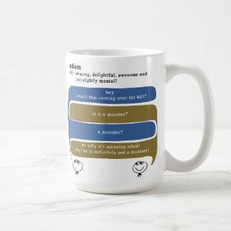 adam coffee mug