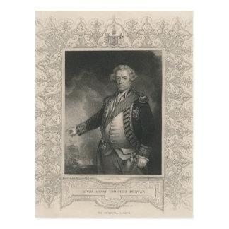Adam Duncan, 1st Viscount Duncan of Camperdown Postcard