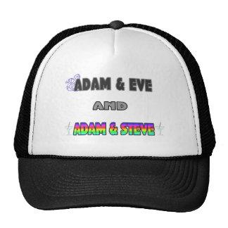 Adam & Eve & Adam & Steve Cap