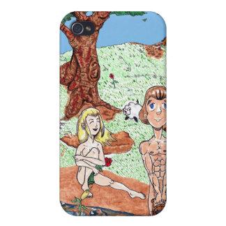 Adam & Eve iPhone 4/4S Cover