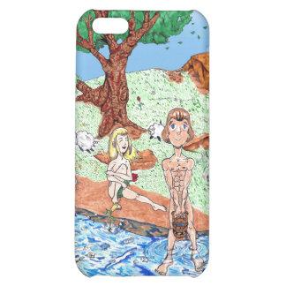 Adam Eve iPhone 5C Case
