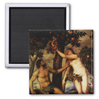 Adam & Eve - The Fall of Man Magnet