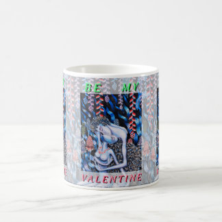 Adam & Eve Valentine's Day Basic White Mug