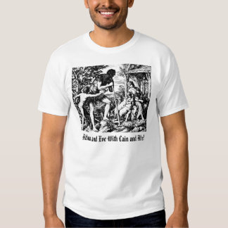 Adam & Eve With Cain & Abel, Adam and Eve With ... Shirts