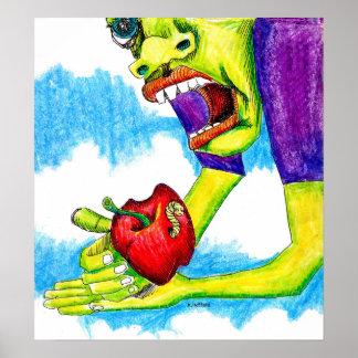 Adam s Apple Print