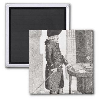 Adam Smith Square Magnet