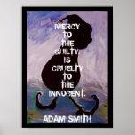 Adam Smith -  Quote - Poster