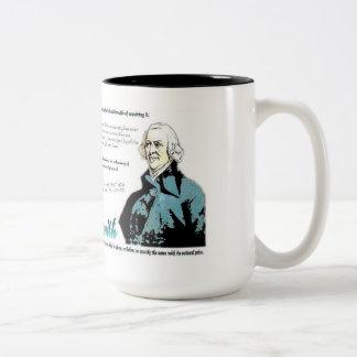 Adam smith Quotes Two-Tone Mug