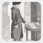 Adam Smith Square Sticker