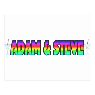 Adam Steve Postcard