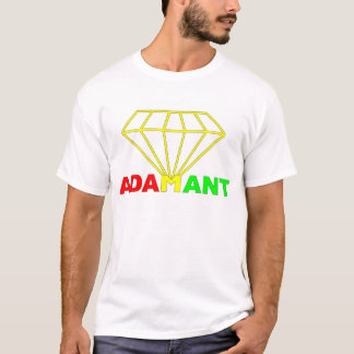 Adamant Rasta Diamond T-Shirt