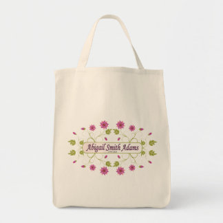 Adams ~ Abigail Smith Grocery Tote Bag