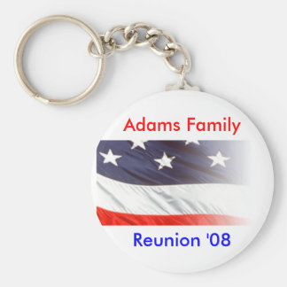 Adams Family Reunion Key Ring