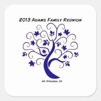 Adams Family reunion sticker
