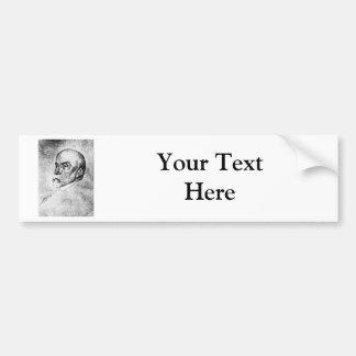 Adams ~ Henry Adams Writer Historian Car Bumper Sticker