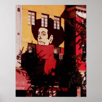 Adams-Morgan neighborhood - Washington, DC Poster