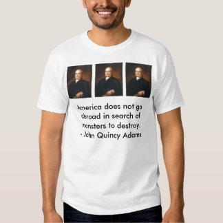 adams quote tee shirt