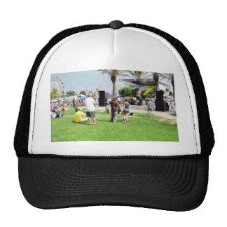 Adams Street Fair Crowd People Hat