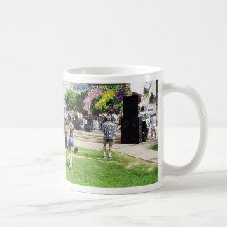 Adams Street Fair Crowd People Coffee Mugs