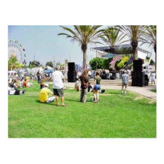 Adams Street Fair Crowd People Post Cards