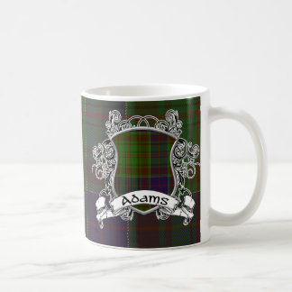 Adams Tartan Shield Coffee Mug