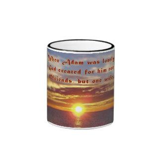 Adams Wife Ringer Mug