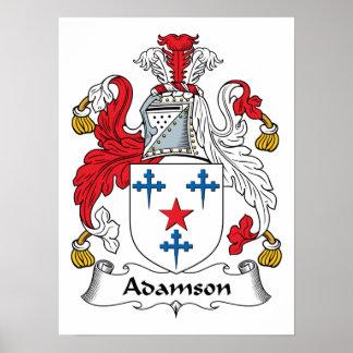 Adamson Family Crest Print