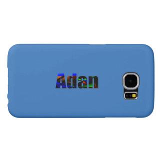 Adan Blue cover for Galaxy Samsung Galaxy S6 Cases