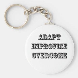 Adapt-Improvise-Overcome Key Ring